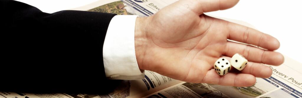 Det er ikke bare flaks som råder i boligmarkedet, selv om det noen ganger kan virke slik. Foto: Colourbox.com