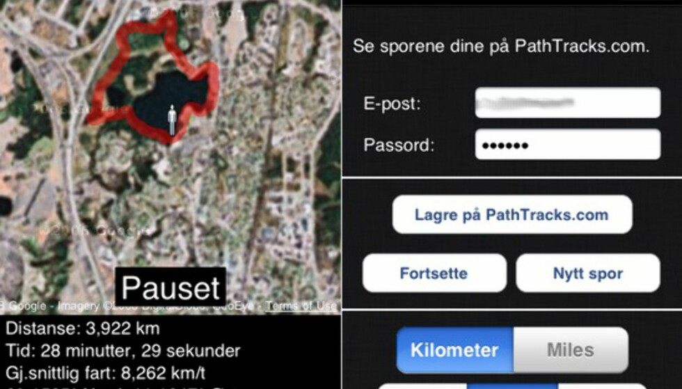 Dagens iPhone-anbefaling: Path Tracker