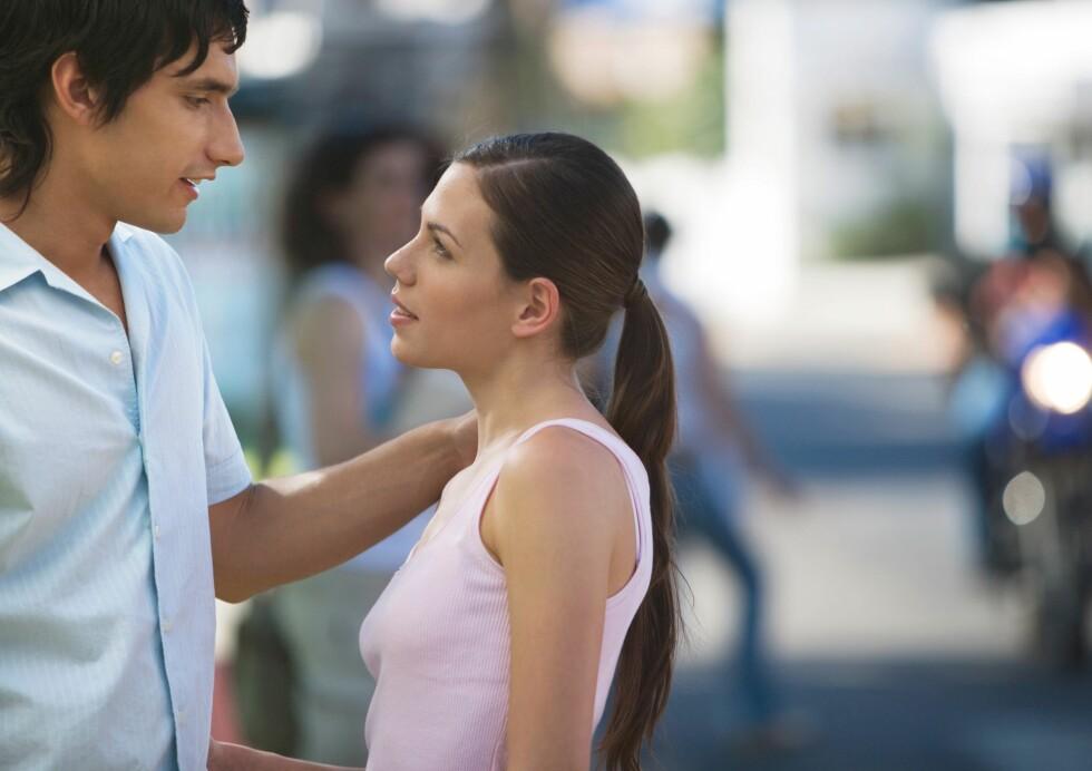 Øk sjansene hos drømmepartneren ved å fortelle hva du føler, viser ny forskning. Foto: colourbox.com