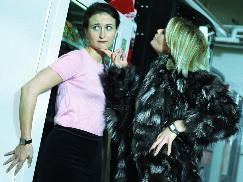 Kvinner synes kvinnelige sjefer er verst ... Foto: Colourbox