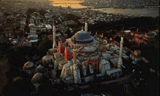Istanbul - kontrastenes by. Her ser du Den blå moské. Foto: Selim Guler
