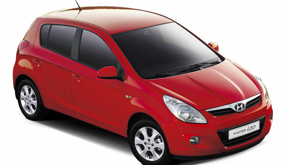 Stort bilde av Hyundais nye småbil