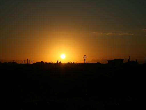 Solnedgang over Praia do Casino, Brasil. Foto: Bruno Spotorno Domingues