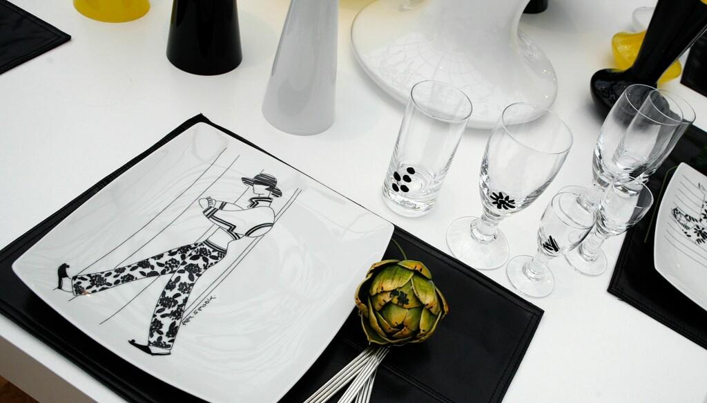 Per Spooks nye serie for Magnor består av enkle tallerkner og robuste glass. Foto: Per Ervland
