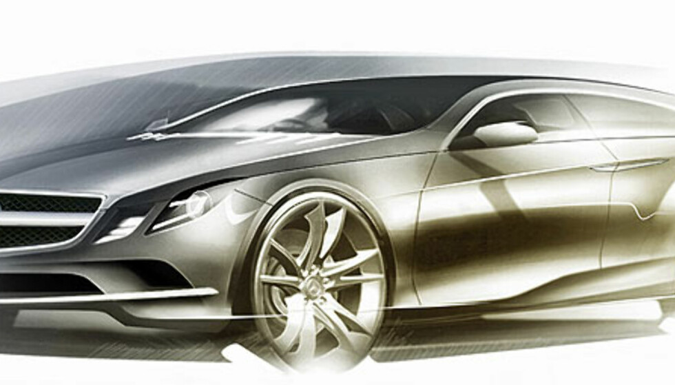 Energisk fra Mercedes: Bildene!
