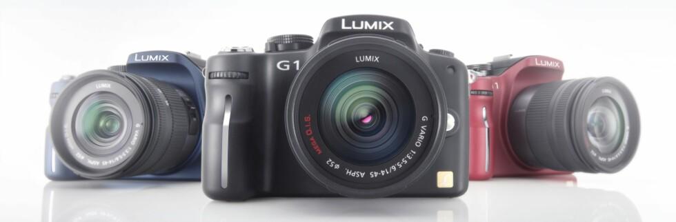 Utskiftbar optikk, men vesentlig mindre enn tradisjonelle speilreflekskameraer. Foto: Panasonic