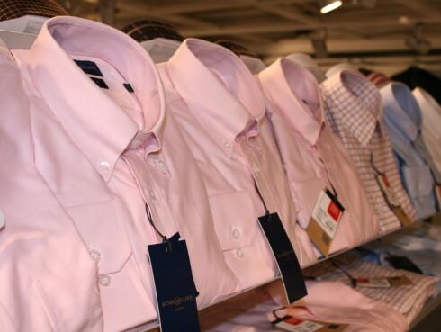 Skjorter fra Henri Lloyd. Før: 799, nå: 399,50 kroner. Foto: Kristin Sørdal
