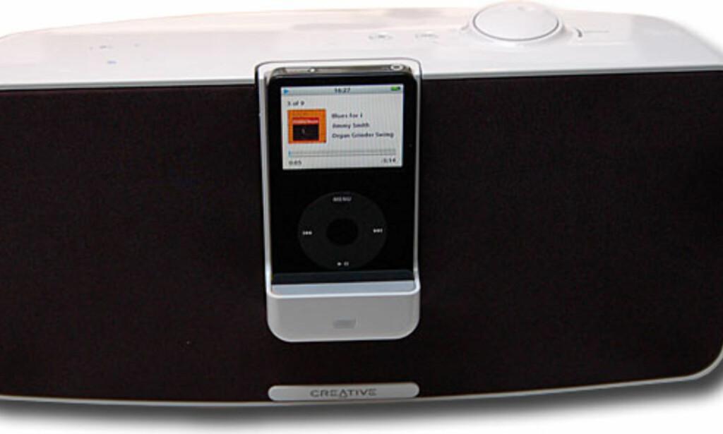 image: De mellomstore iPodanleggene
