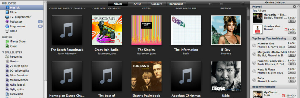 Vi har testet iTunes 8