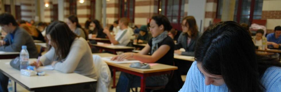 De andre nordiske landene tilbringer mer tid på skolebenken enn oss, med unntak av Island. Foto: Colourbox.com