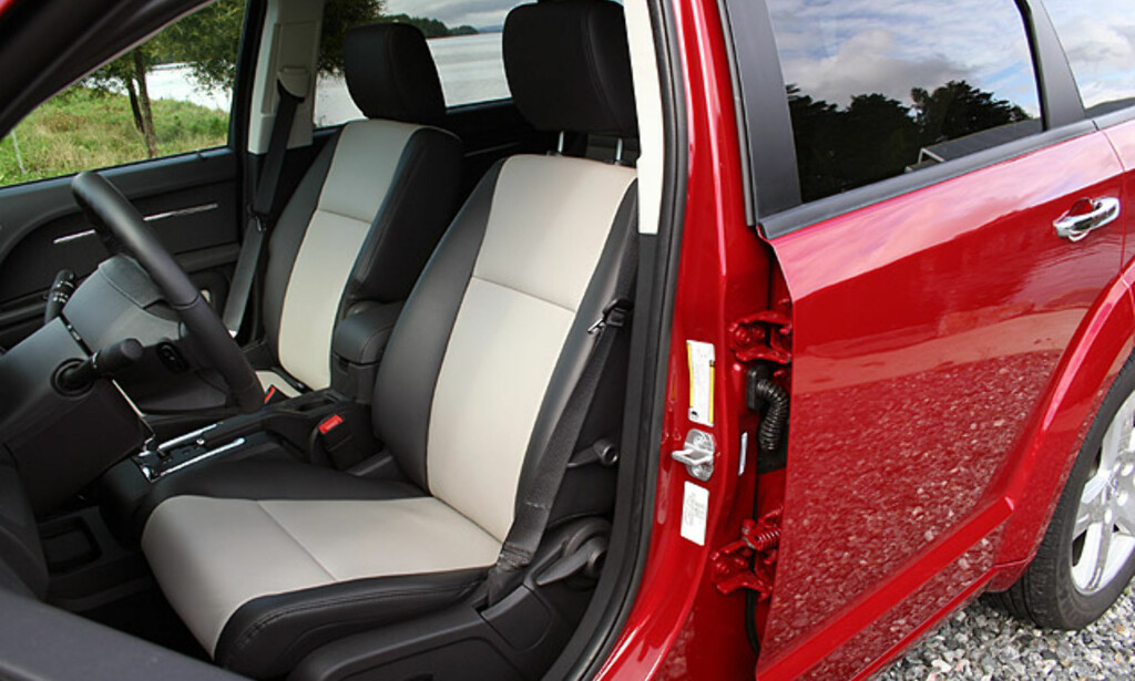 image: Dodge Journey: Store interiørbilder