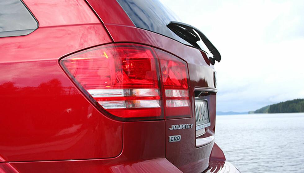 Dodge Journey: Store eksteriørbilder