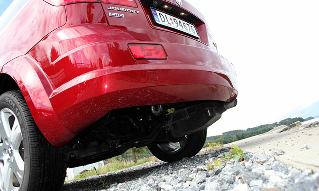 image: Dodge Journey: Store eksteriørbilder