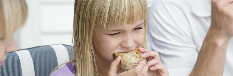 Et sunt kosthold kan hjelpe barn som lider av migrene Foto: Colourbox.com