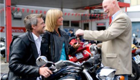 Det er i følge If Skadeforsikring også mye underslag av motorsykler. Foto: Colourbox