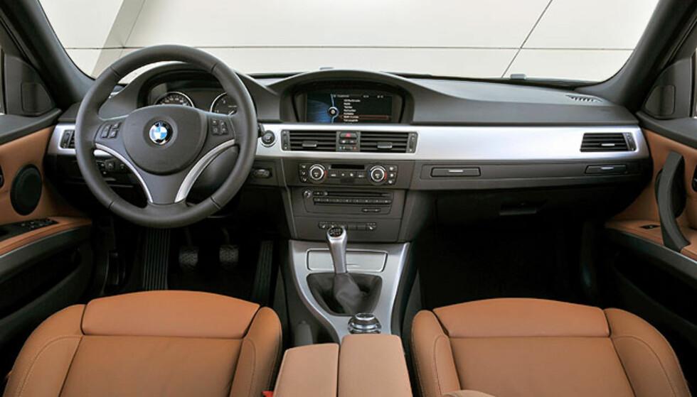 Store bilder - fornyet BMW 3-serie