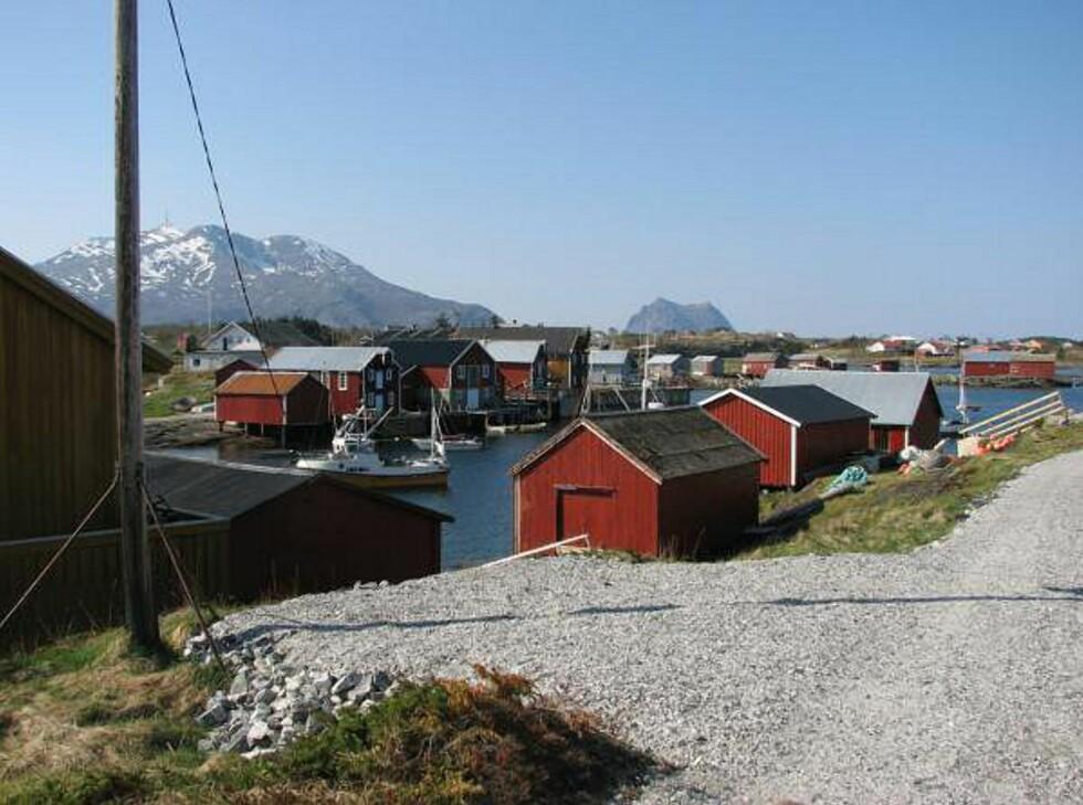 Naust på Nes. Foto: Marian Lie Johansen