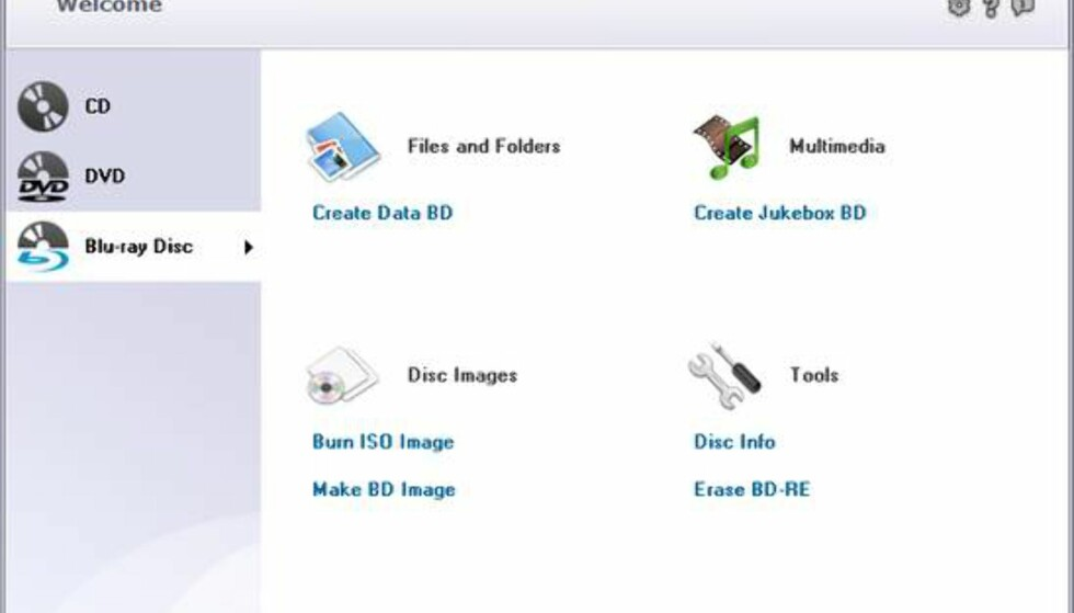 BurnAware har alle funksjonene man bruker oftest, og er både enkelt og helt gratis å bruke.