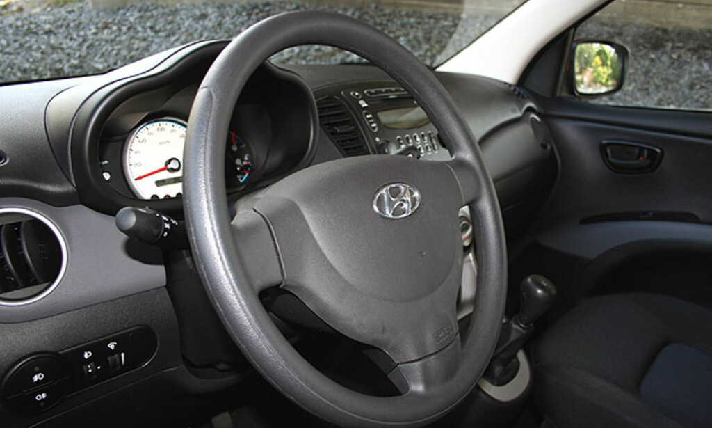 image: Hyundai i10: Store interiørbilder