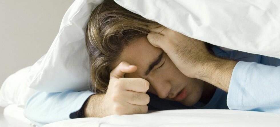 Nattlige ulyder fra partneren kan gå både på nattesøvnen og samlivet løs. Illustrasjonsfoto: colourbox.com