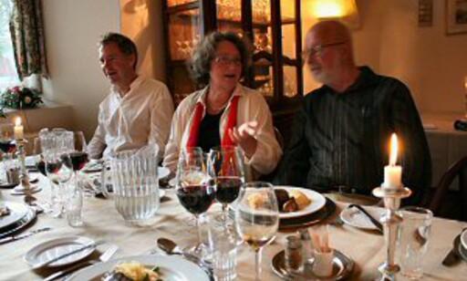 Har slottet restaurant, blir du vanligvis traktert med dansk gourmetmat. Her fra Dronninglund Slot. Foto: Stine Okkelmo