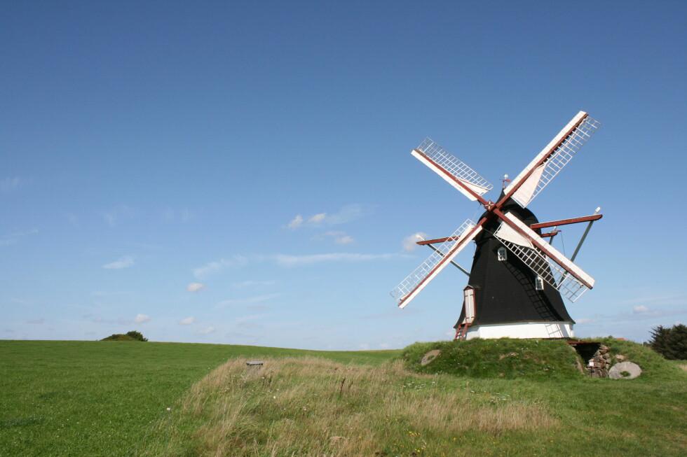 Vakre Dorf Mølle ligger i nærheten av Dronninglund Slot. Foto: Stine Okkelmo