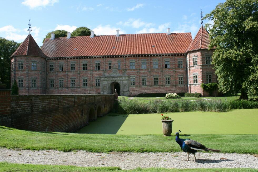 Voergaard Slot regnes som Danmarks vakreste renessanseslott. Foto: Stine Okkelmo