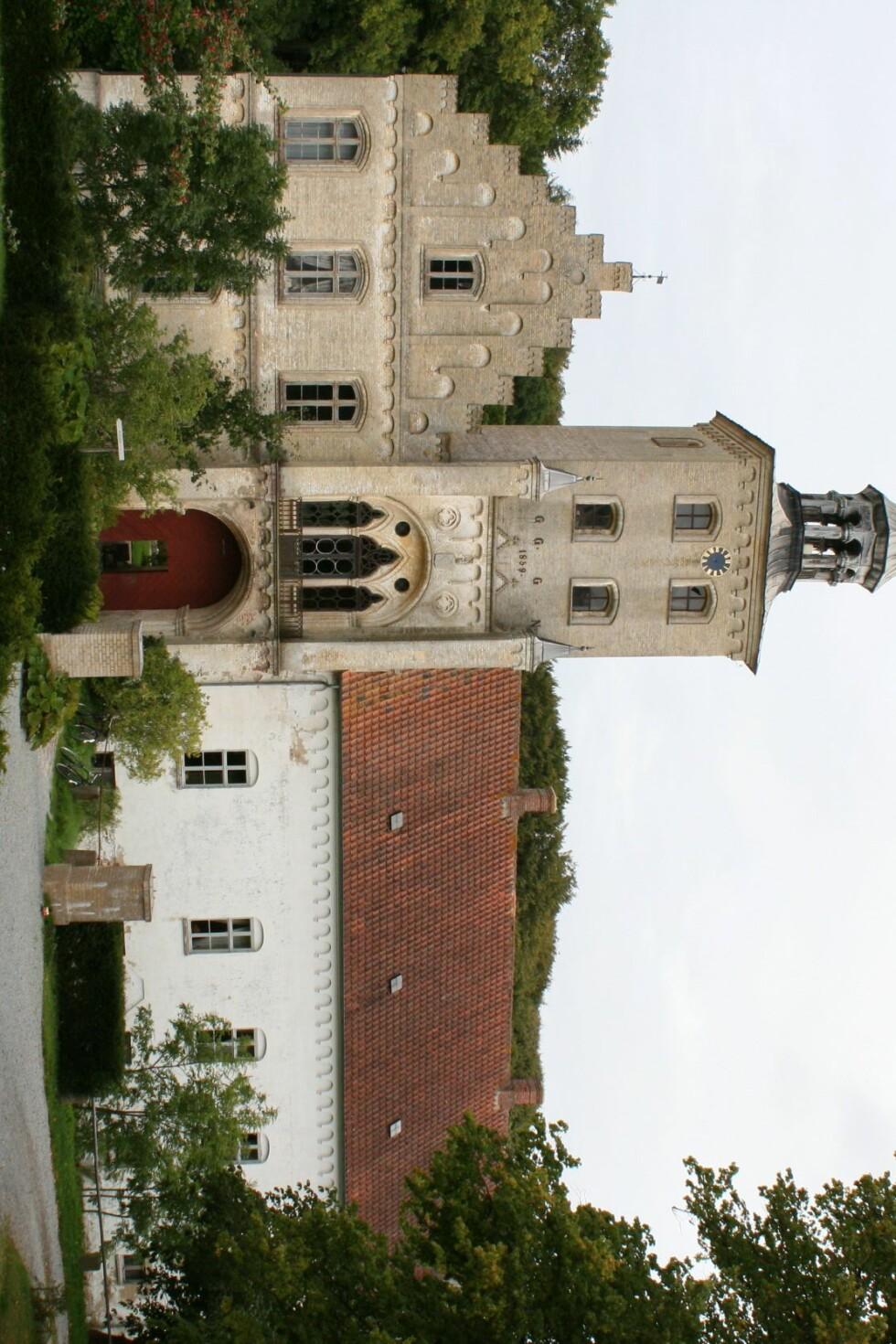 Højriis Slot er hver sommer åstedet for et mord eller flere... Foto: Stine Okkelmo