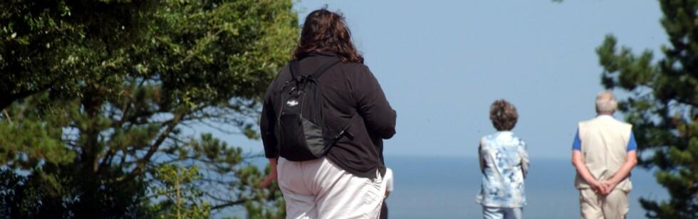 Aktive overvektige skal ifølge en ny studie ha en betydelig overdødelighet i forhold til aktive slanke. Illustrasjonsfoto: colourbox.com