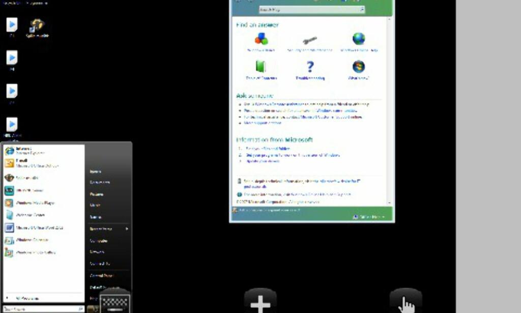 Vista i fullskjerm på iPhonen!