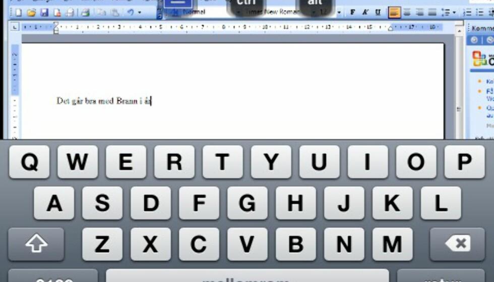 Joda, det går an å skrive dokumenter i Word, men vi vil ikke direkte anbefale det.