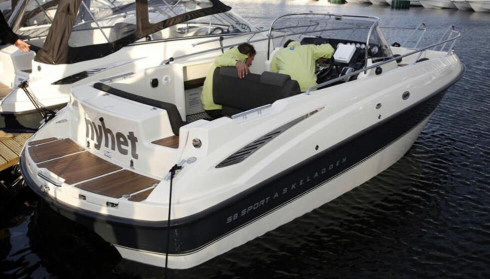 Askeladden S6 Sport er ny. Vises på messa med en 150-hesters dieselmotor. Normal pris er 585.400 kroner. Foto: Per Ervland