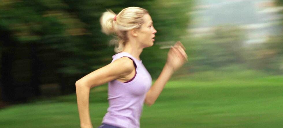 Trening tidlig i svangerskapet kan ifølge forskere øke risikoen for spontanabort. Illustrasjonsfoto: colourbox.com