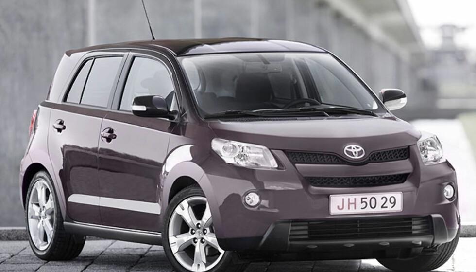 Urban Cruiser skal være en  drivstoffgjerrig småbil.