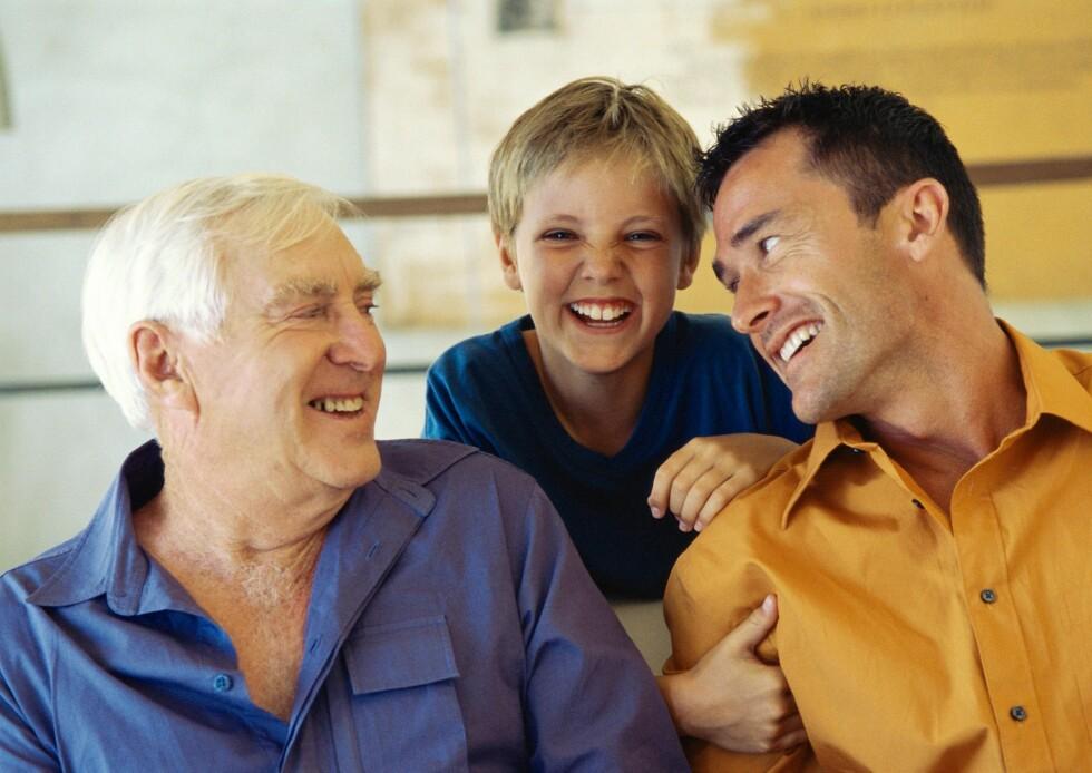 Snart kan barn og barnebarn arve mer uten å betale arveavgift. Foto: Colourbox.com