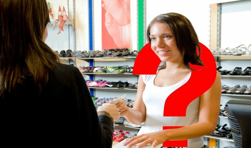 Det er vanskelig å klage når både kundene og selger er usikker på forbrukerkjøpsloven. Foto: Colourbox.com