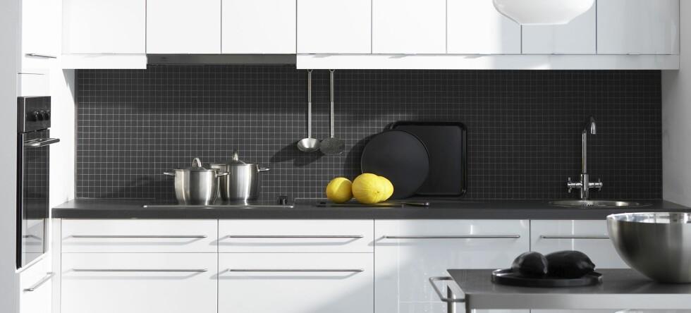 Ikke alle rørleggere vil installere kjøkkenutstyr fra Ikea. Foto: Ikea