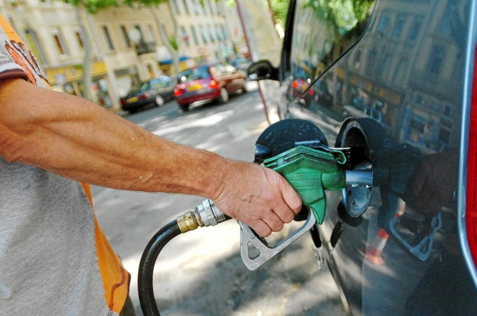 Kjøpte mye mindre bensin