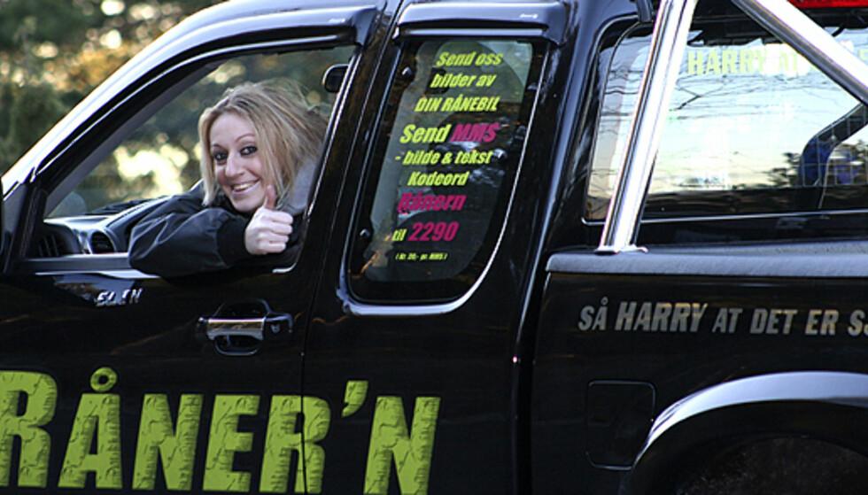 Elin B. Svendsen er for tiden på rundreise i Norge for å møte nye rånere. - Trondheim har vært det store høydepunktet så langt på turen, et utrolig aktivt rånemiljø, sier hun.  Foto: Raanern.no