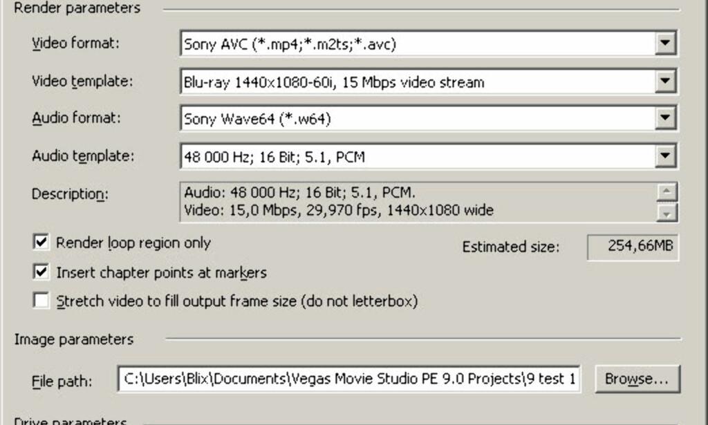 image: Sony Vegas Studio oppgradert