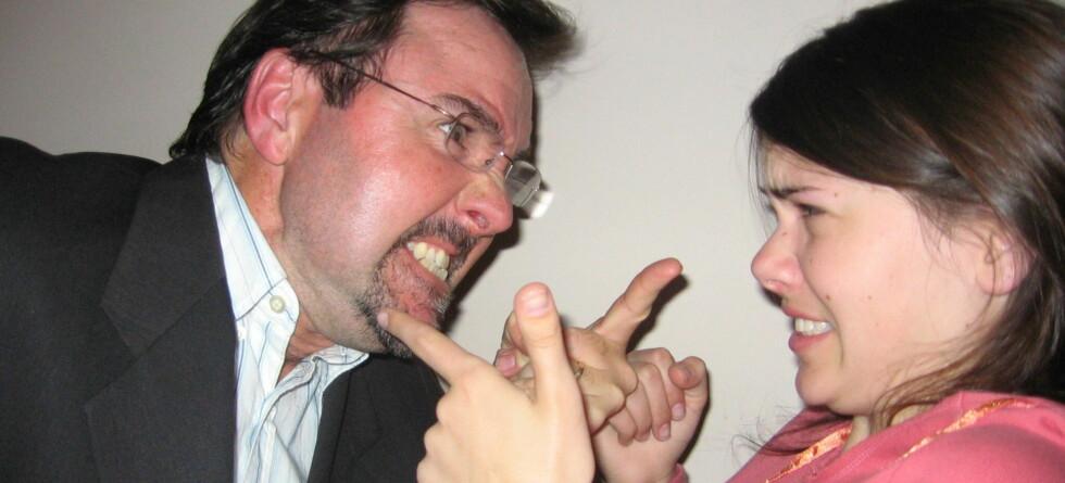Vi hater lyden av krangling på naborommet ... Illustrasjonsfoto Foto: Colin Adamson