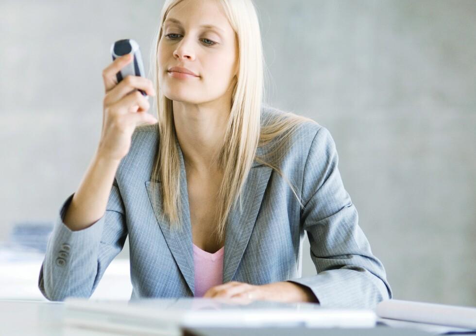 Det kan være en veldig god grunn til at telefonen din ikke ringer.  Foto: Colourbox.com