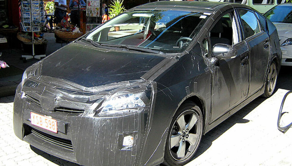 Bilder av neste Toyota Prius