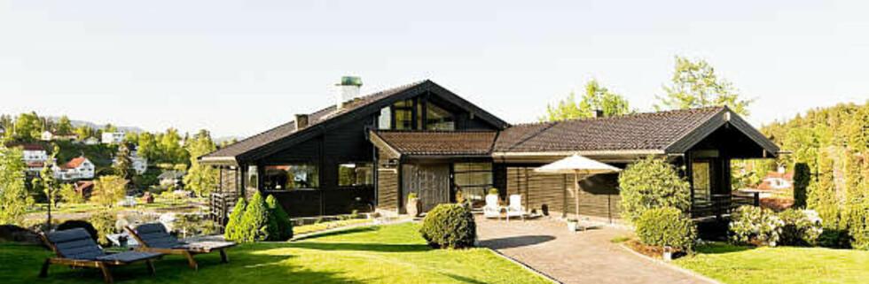Denne boligen på Nesøya er blant de dyreste boligene på Finn.no akkurat nå. Prislapp: 35 millioner kroner. Foto: Choice eiendomsmegling