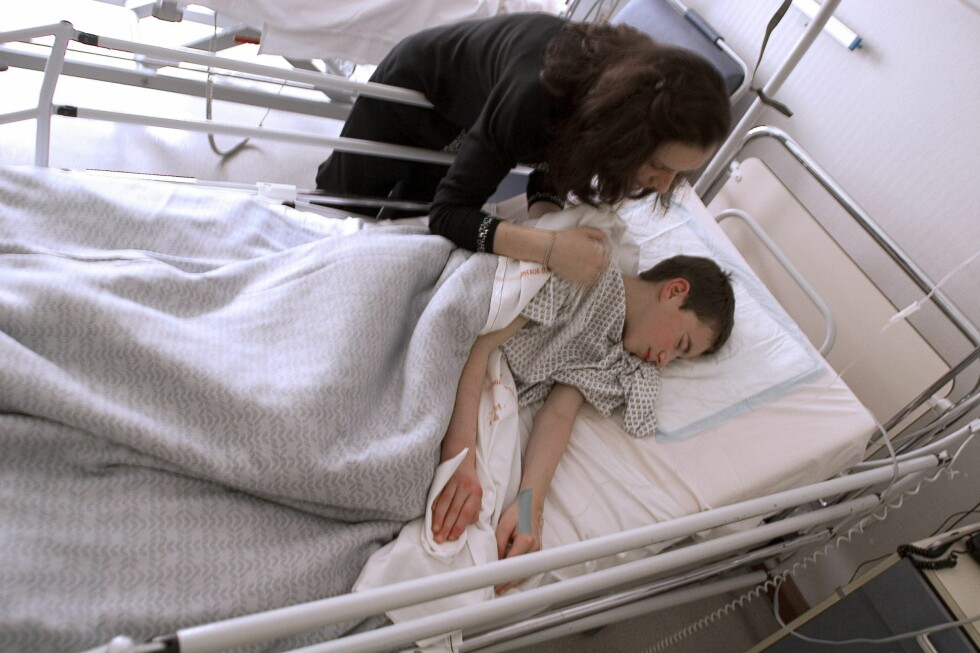 Flere blir syke på ferie, og antallet sykehusinnleggelser øker. Illustrasjonsfoto. Foto: Colourbox