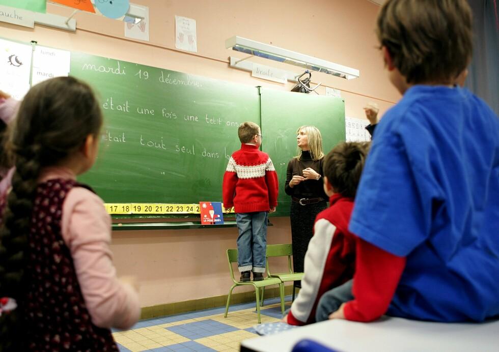 Mer lønn til lærerne er et av OECDs råd til norske myndigheter.   Foto: Colourbox.com