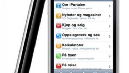 Smart startside for iPhone