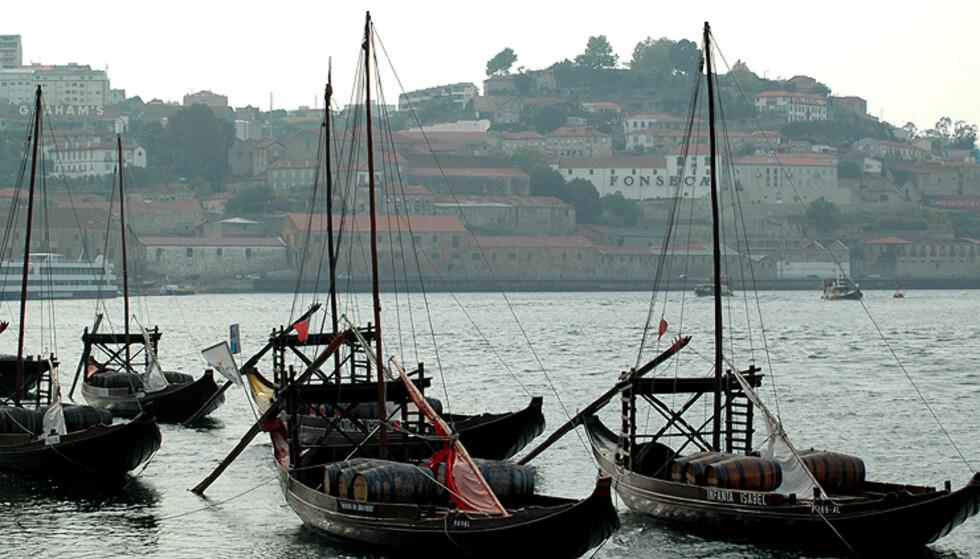 Fra Porto - endestasjonen og eksporthavnen for portvinen.  Foto: Hans Kristian Krogh-Hanssen