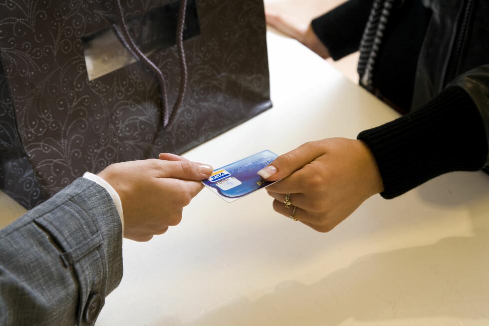 Legestudentene kjøpte dyre klær med kortet de brukte. Foto: Colourbox.com