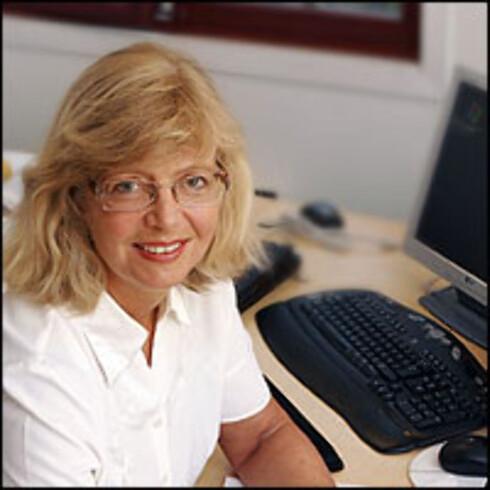 Agnes Bergo, daglig leder i Pengedoktoren. Foto: Per Ervland
